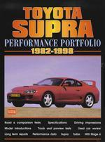 Toyota Supra Perfomance Portfolio 1982-98