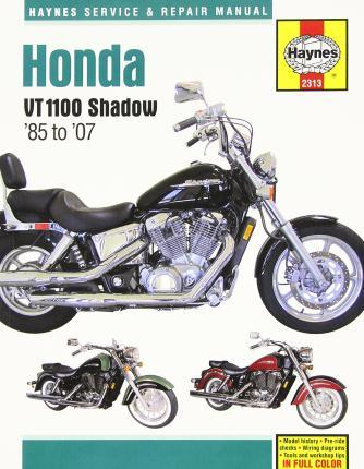 Honda VT1100 Shadow 1985-07