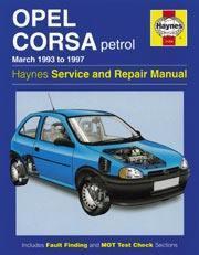 Opel Corsa Petrol 1983-93