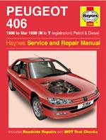 Peugeot 406 Petrol & Diesel 1996-99
