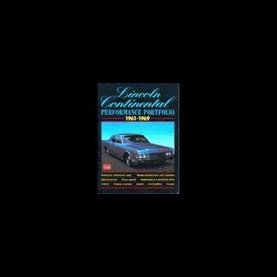 Lincoln Continental Performance Portfolio 1961-69
