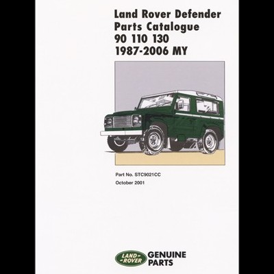 Land Rover Defender 90-110-130 87-2001 Parts Catal