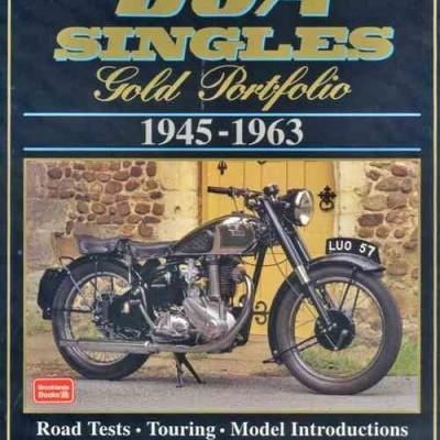 Bsa Singles Gold Portfolio 1945-63