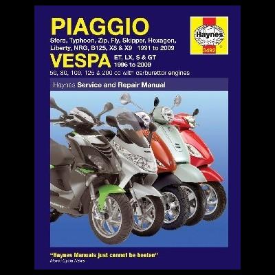 Piaggio ( Vespa ) Scooters 1991-09