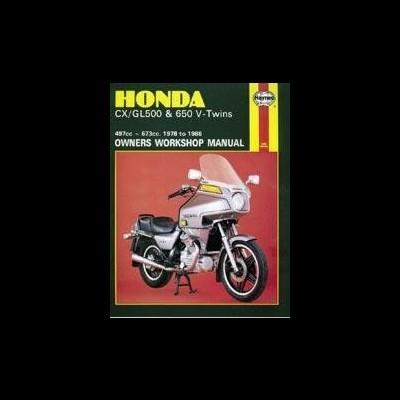 Honda CX/GL500 & 650 V-Twins 1978-86
