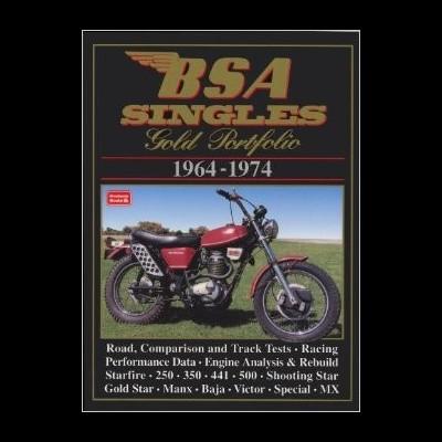 Bsa Singles Gold Portfolio 1964-74