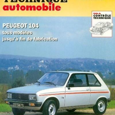 Peugeot 104 Tous les moteurs RTA733