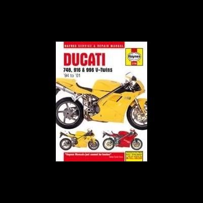 Ducati 748, 916 & 996 4-Valve V-Twins 1994-01