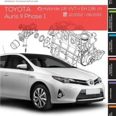 Toyota Auris II Ph.1 HY 1.8VVT-i EH 136CH (RTA814)