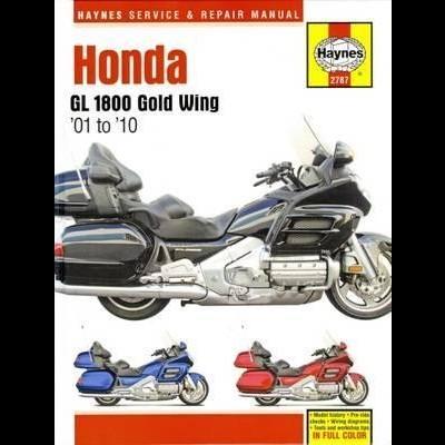 Honda GL1800 Gold Wing 2001-10