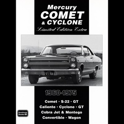 Mercury Comet & Cyclone Limited Edition 1960-75