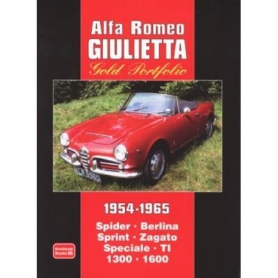 Alfa Romeo Giulietta Gold Portfolio 1954-65