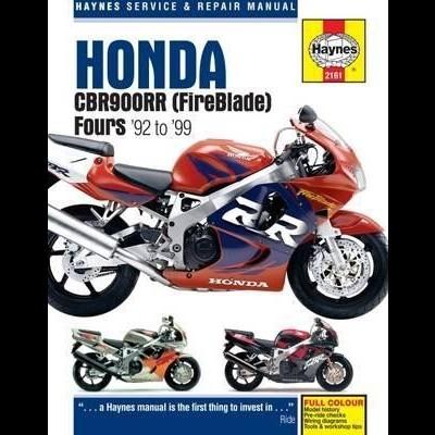 Honda CBR900RR FireBlade 1992 -99