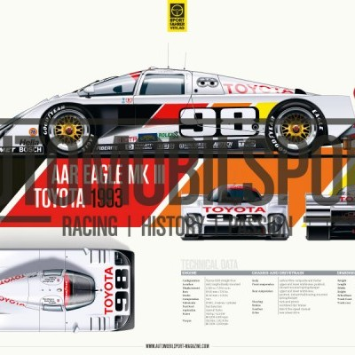 AAR Eagle MKIII Toyota (Vol. 20 Automobilsport)