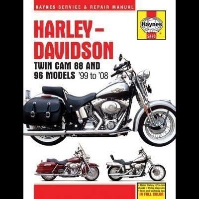 Harley Davidson Twin Cam 88,  96 & 103 1999-2010