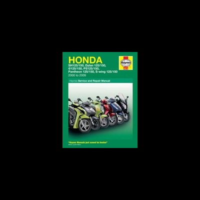 Honda 125 Scooters 2000-09