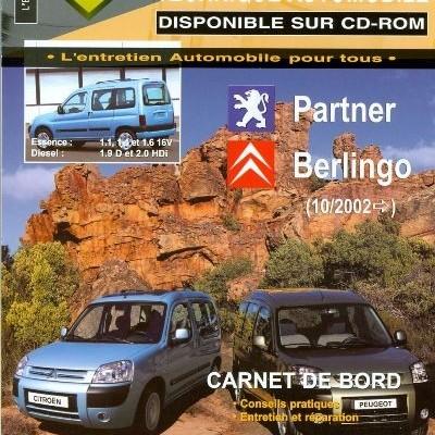 Citroën Berlingo, Peugeot Partner 10/2002 TAP415