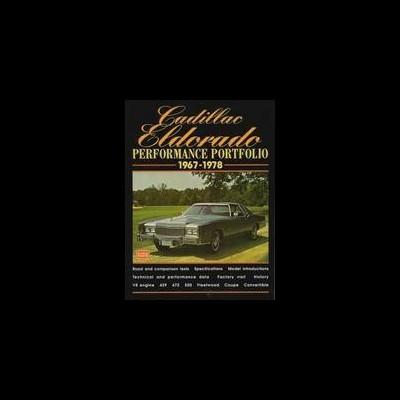 Cadillac Eldorado Performance Portfolio 1967-78