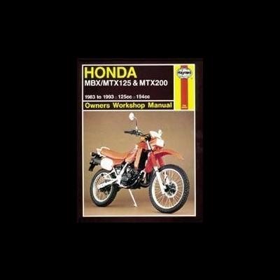 Honda MBX/MTX 125 & MTX200 1983-93