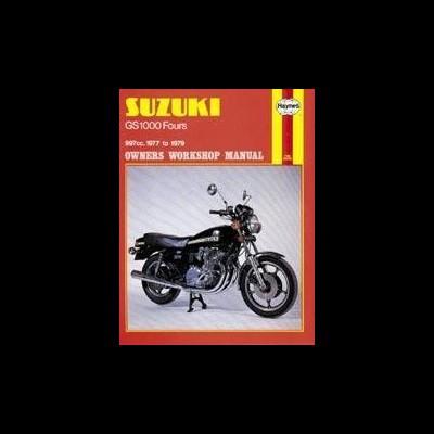 Suzuki GS 1000 Four 1977-79