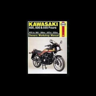 Kawasaki 400, 500 & 550 Fours 1979-91