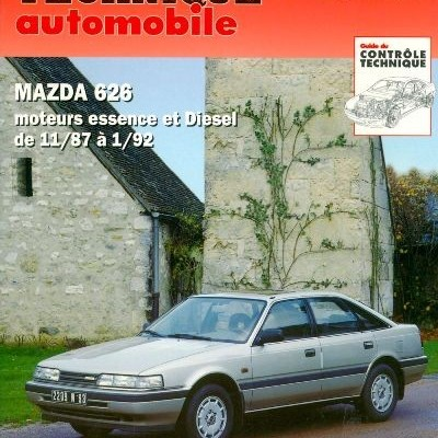 Mazda 626 (exc break e 4X4) Ess/D 1987-92 (RTA528)