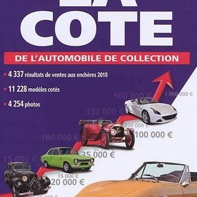 La cote de l'automobile de collection 2019