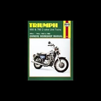Triumph 650 & 750 2-Valve Unit Twins 1963-83