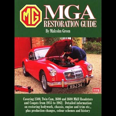 MG MGA Restoration Guide (SC)