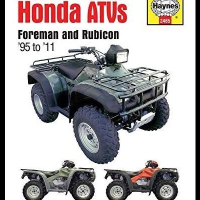 Honda Foreman and Rubicon ATVs 1995-2011