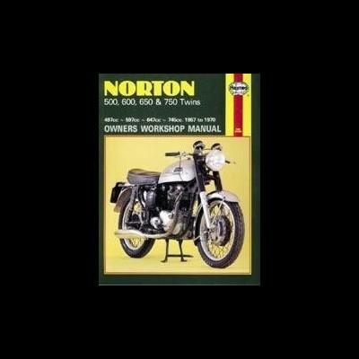 Norton 500, 600, 650 & 750 Twins 1957-70