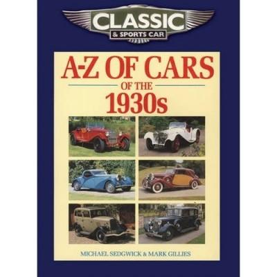 A-Z Cars 1930'S