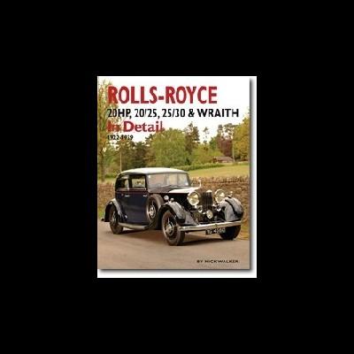Rolls-Royce 20HP, 20/25, 25/30 & Wraith in Detail