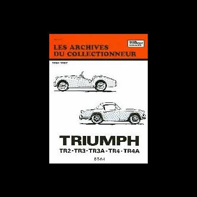 Triumph TR 2 TR 3 TR 3A TR 4, TR 4A 1953-67 (AC02)