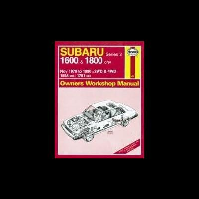 Subaru 1600 & 1800 1979-90