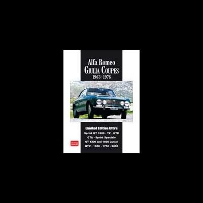 Alfa Romeo Giulia Coupes 1963-76 Limited Edt Ultra