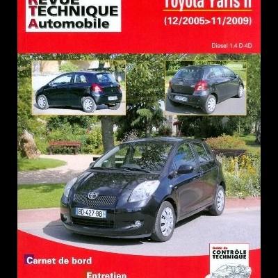 Toyota Yaris II 1.4 D4d 90ch 12/05>11/09 (RTAB766)