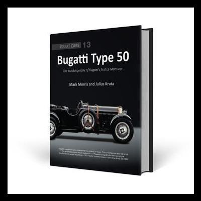Bugatti Type 50 - Great Car Series