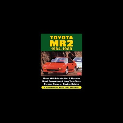 Toyota MR2 1984-89 Road Test Porfolio