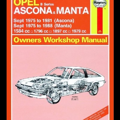 Opel Ascona & Manta B Series 1975-88