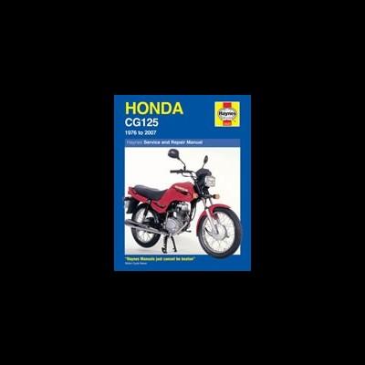 Honda CG125 1976-07