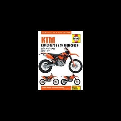 KTM EXC Enduro & SX Motocross 2000-07
