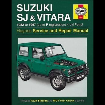 Suzuki SJ Series, Samurai & Vitara Petrol 1982-97