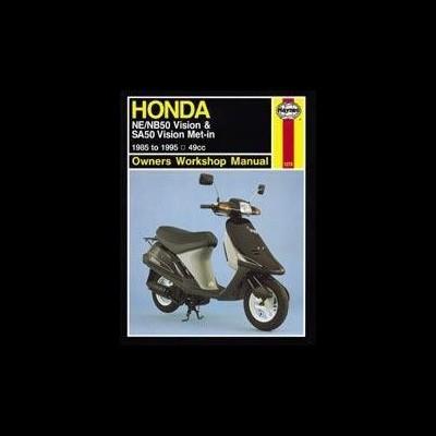 Honda NE/NB50 Vision, SA50 Vis. Met-In 1985-95
