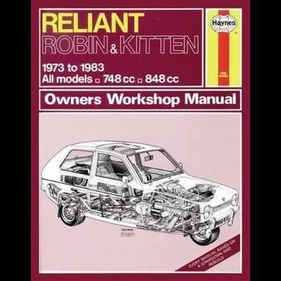 Reliant Robin & Kitten 1973-83