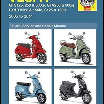 Vespa GTS 125/250/300 + LX 2005-14