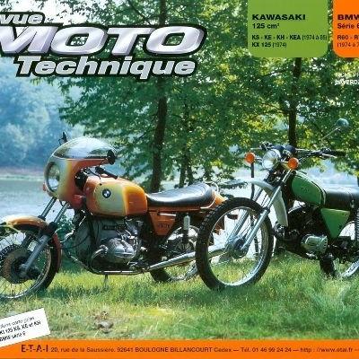 F018 Kawasaki 125KS, KH; BMW R60/6 a R90/6