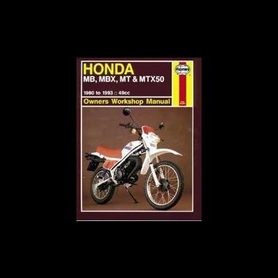 Honda MB, MBX, MT, & MTX50 1980-93
