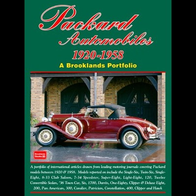 Packard Automobiles 1920-58