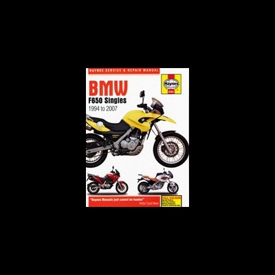 Bmw F650 Singles 1994-07
